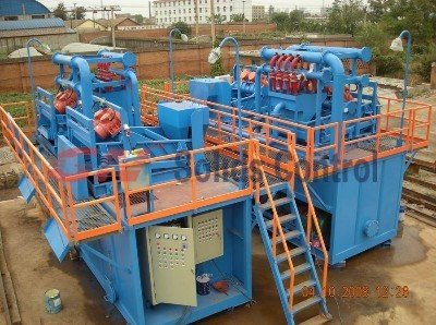 Drilling lfuids processing system