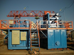Mining mud equipments