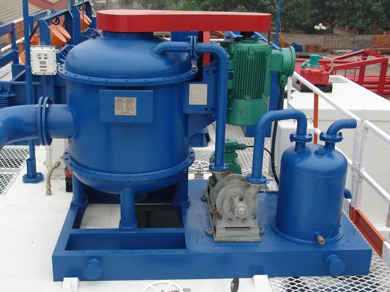 Drilling Fluids Vacuum Tank Degasser