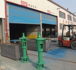Vertical sand pump