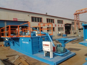hdd mud cleaning regeneration system