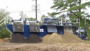 Dredged slurry Separation system