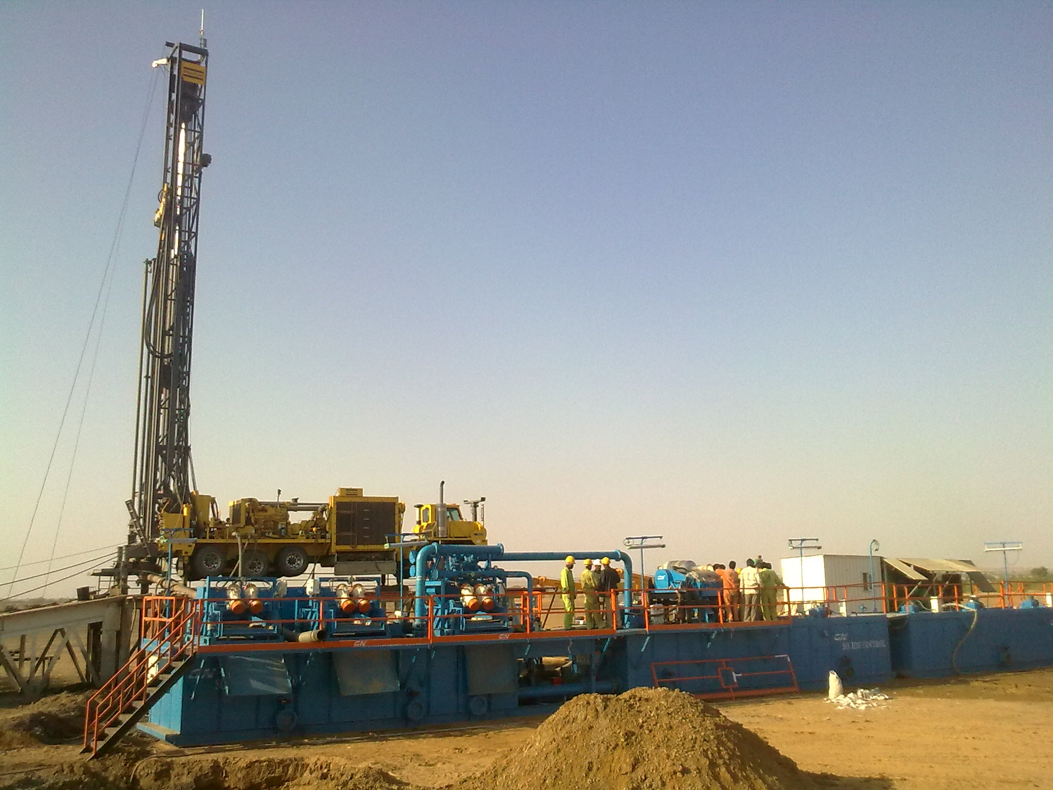 Drilling Rig Pictures Drilling Rig Mud System