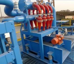 hydraulic desilter