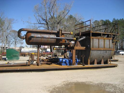 Trip Tank & Mud Gas Separator Skid