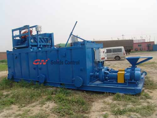 Mud recycling system for hdd boring