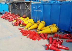 drill fluid hydrocyclone cones