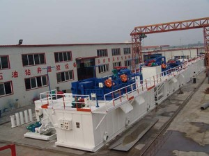 drilling fluids conditioning system