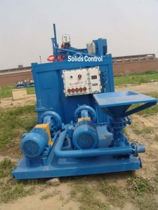 centrifugal pump in the jet mud mixing system