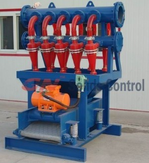 drilling mud desilting equipments