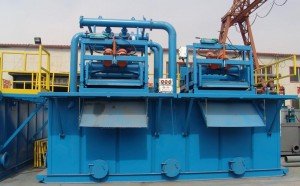 slurry separation system for tunneling