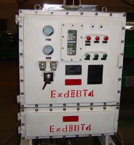 variable frequency control panel