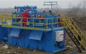 slime dewatering system