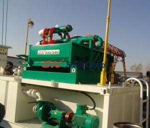 mining rig mud recycling system