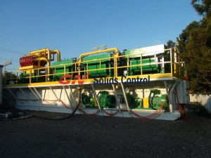 natural gas drilling mud system