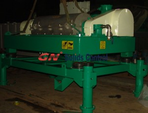 barite recycling centrifuge