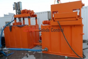 Mine Slurry Solids Separation