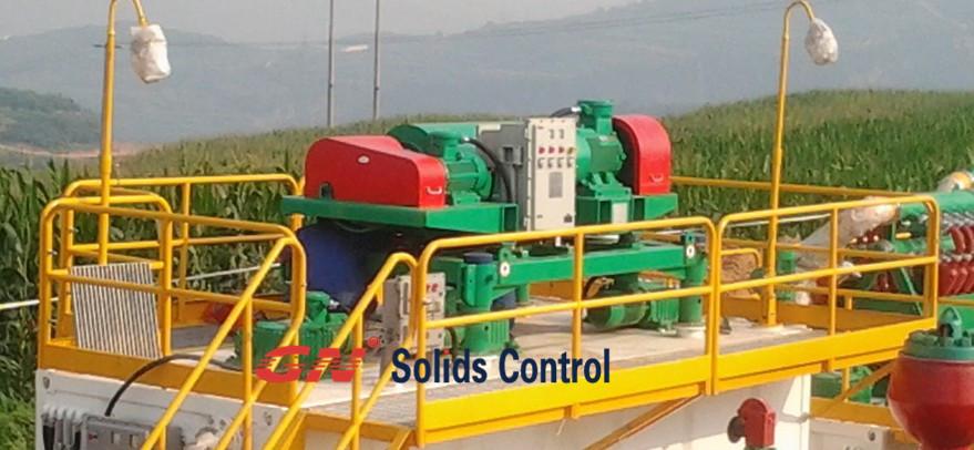 Swaco 518 centrifuge