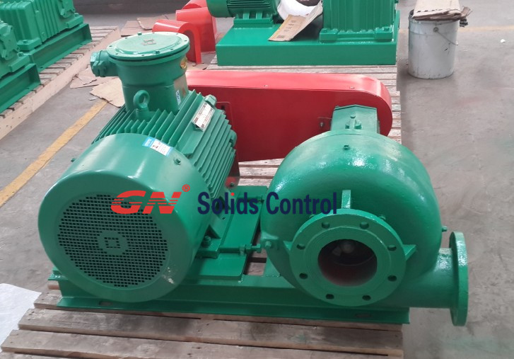 Shear pump for mixing