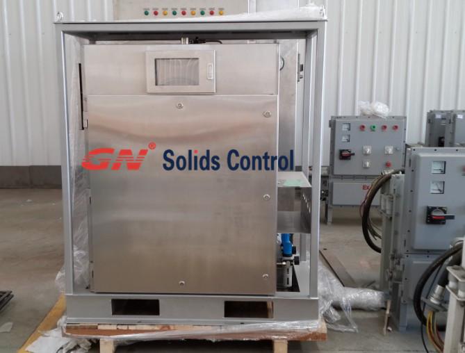 VFD control panel for VFD centrifuge