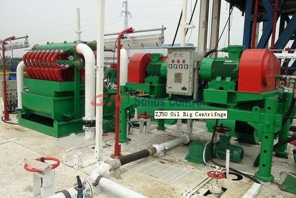 drilling rig centrifuge