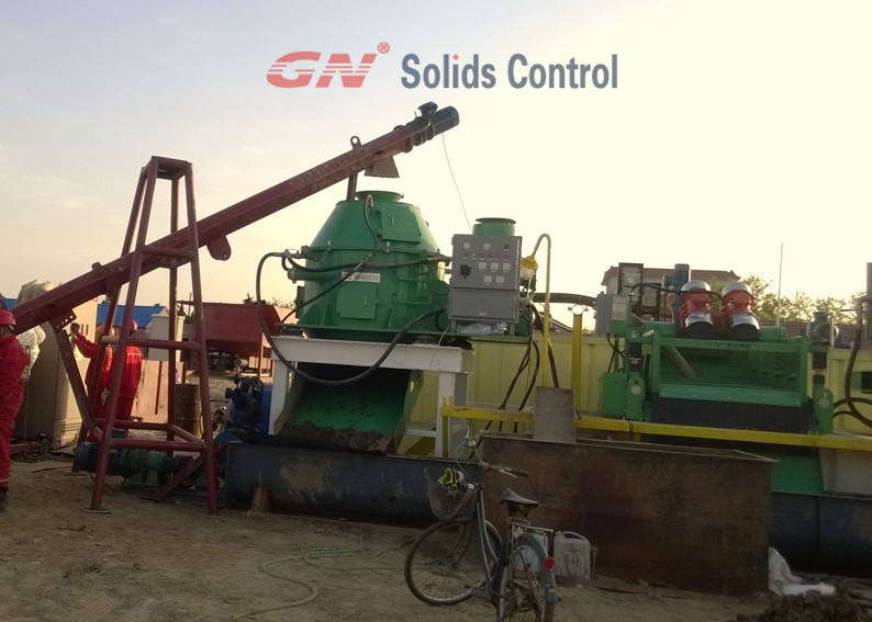 Drilling waste management equipment