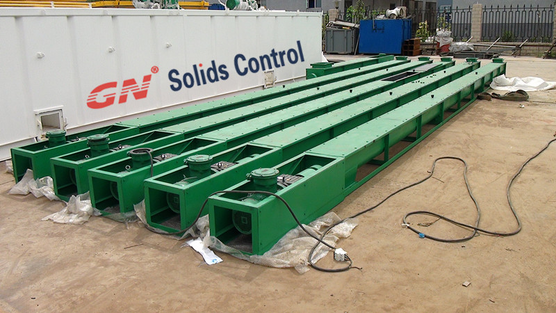 Screw Conveyor Application in Drilling Waste Management