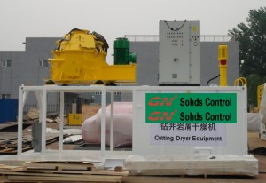 cuttings dryer equipment