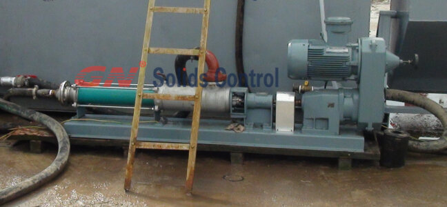 mechanical speed adjusted screw pump