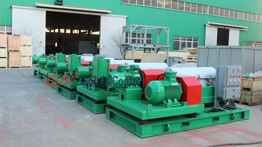 decanter centrifuge for drilling