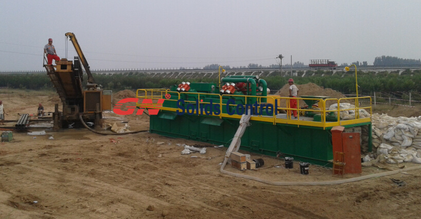 GNMS-500GL_mud_system_working_at_HDD_rigsite