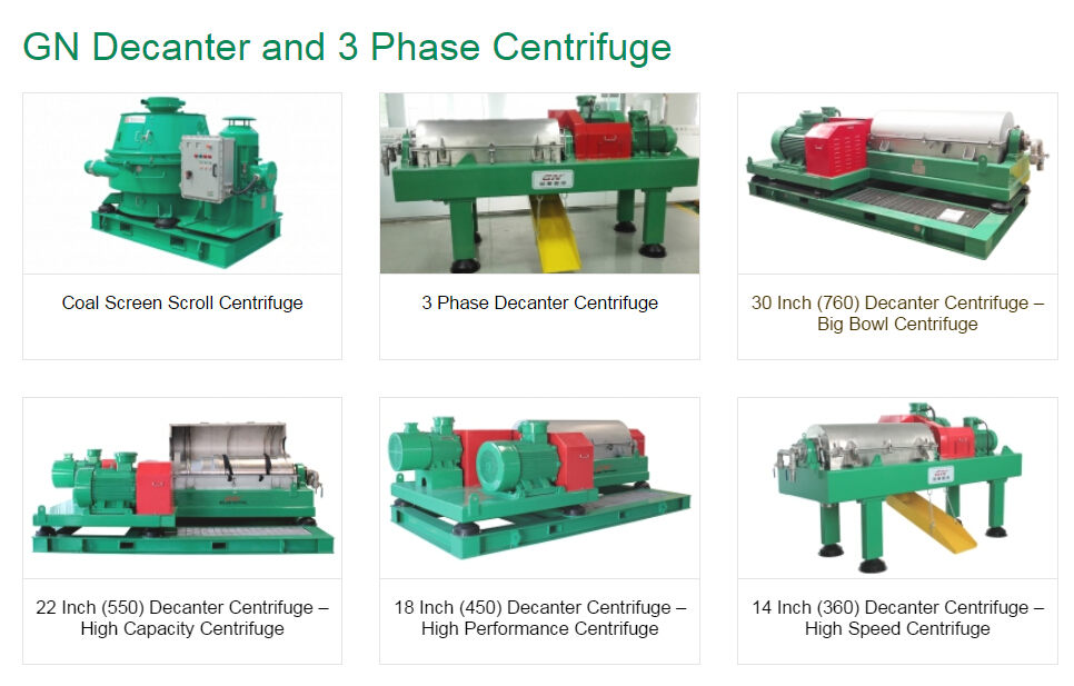 GN industry centrifuges
