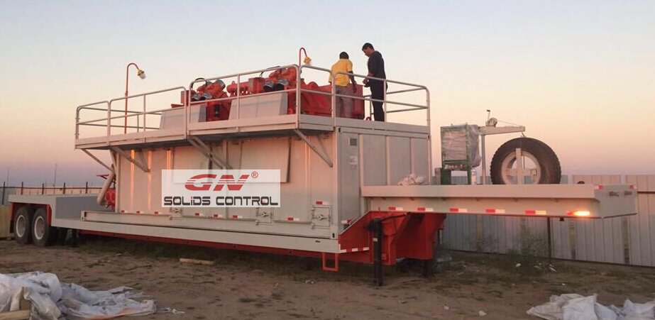 500gpm mud system
